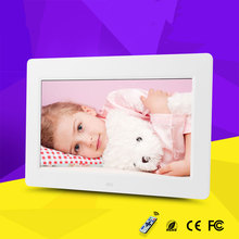 "10"" HD TFT-LCD Digital Photo Picture Frame Music Video Player US Plug"