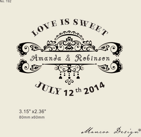 Love Is Sweet Custom Rubber Stamp Wedding 3 15 X2 36 Diy Card In Stamps From Home Garden On Aliexpress Alibaba Group