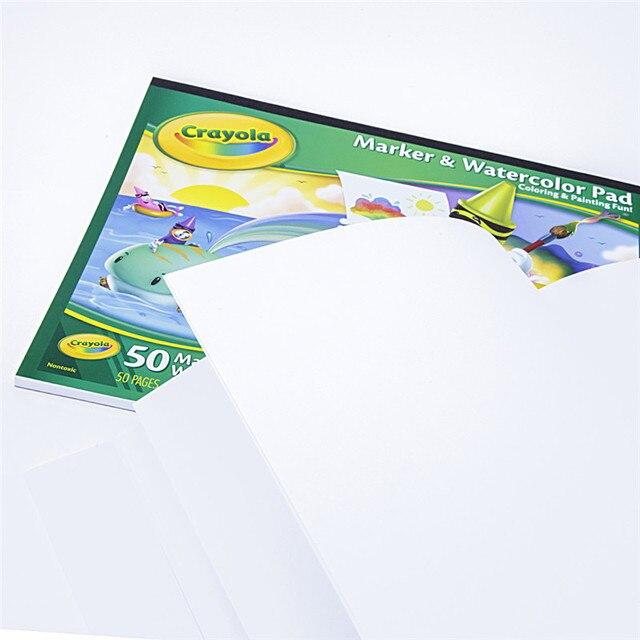 50 Páginas de Papel Pintura Marcador de Papel de Dibujo Papel de ...