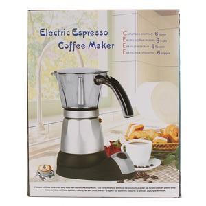 Image 3 - מטבח מיני מכונת קפה חשמלי אוטומטי מכונת קפה קנקן 6 כוסות אספרסו פרקולטור מוקה תה קומקום ביתי