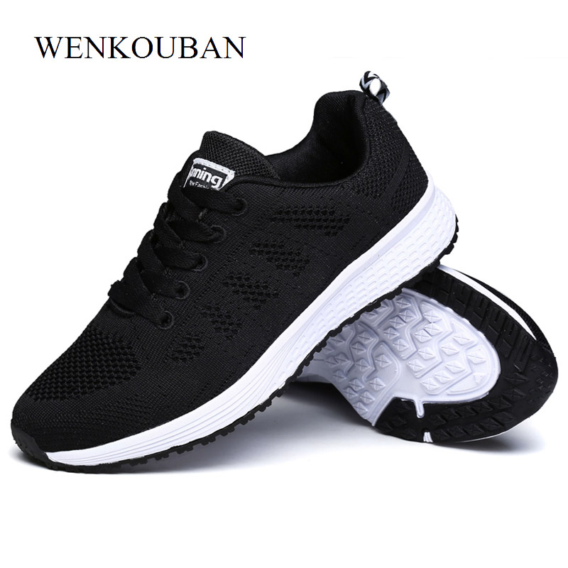 ... Shoes Basket Sneakers Zapatos Outdoor Shoes Platform Tenis Femme Sneakers  Pink White Women Mujer Casual Mesh ... 488e024b65cc