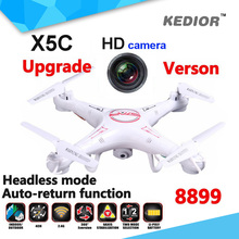 Drone Syma X5C -1 Professional Rc Dron With HD Camera X5C Upgraded 8899 Rc Quadcopter RTF Helicopter Headless Mode & Auto Return