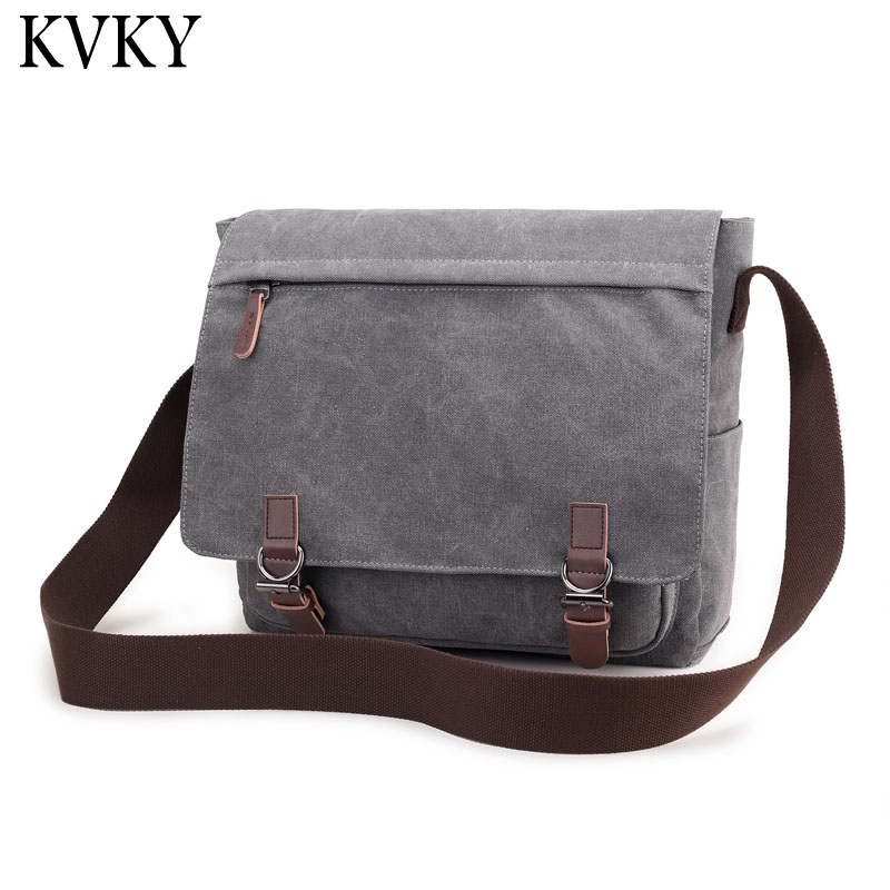 2018 New Men's shoulder bags handbags canvas laptop bags men's messenger bag Vintage Casual Crossbody high quality travel bags new 2016 women bag vintage canvas handbags messenger bags for women handbag shoulder bags high quality casual bolsa l4 2669