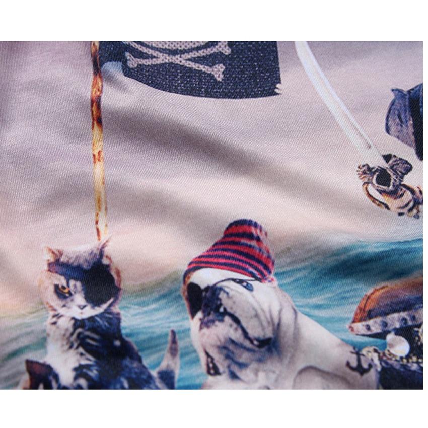 Mr.1991 brand Pirate Cat 3D T-Shirt für Jungen und Mädchen Neue - Kinderkleidung - Foto 4