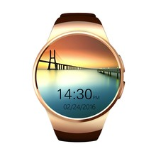 Kingwear kw18 Bluetooth Smart Watch phone support SIM TF card Heart Rate Monitor Smartwatch for apple