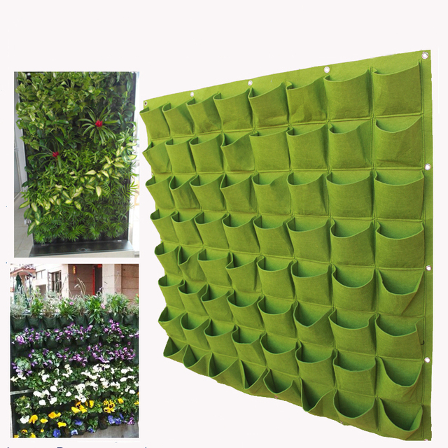 Pocketgarden Hanging Plant Pots Wall Pot Vertical Garden Flower Pots And  Planter Hanging Pots Planter Garden