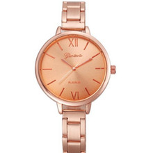 Stainless Steel Analog New Fashion Womens Watch Gift for Women  Gold Wrist Watches Temperament Ladies Horologium Casual Dress