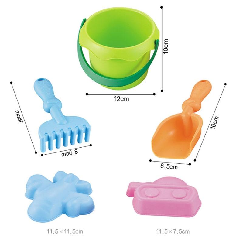 Pools & Water Fun Saizhi 5pcs Kids Sand Water Summer Beach Children Toy Set Bucket Spade Shovel Rake Water Tool Beach Toys Sz1305
