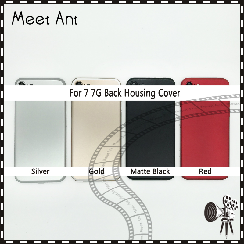 10Pcs lot New High Quality Back Cover For iphone 7 7G or 7 Plus 7Plus Housing