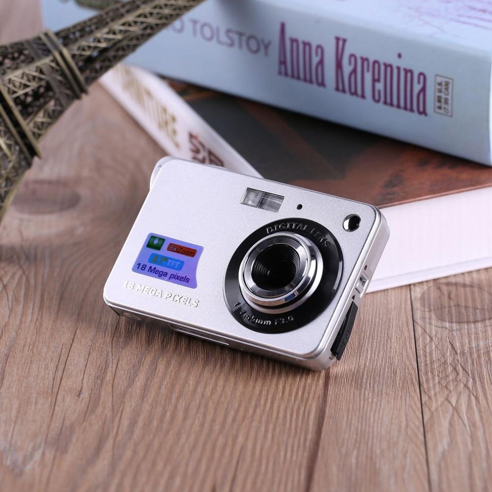 2.7 TFT LCD HD 720P 18MP K09 Digital Camera Camcorder CMOS Sensor 8X Zoom Anti-shake Anti-red Eye Digital Camera Drop Shipping 5 0mp cmos digital video camcorder w 4x digital zoom usb av sd red 2 4 tft lcd