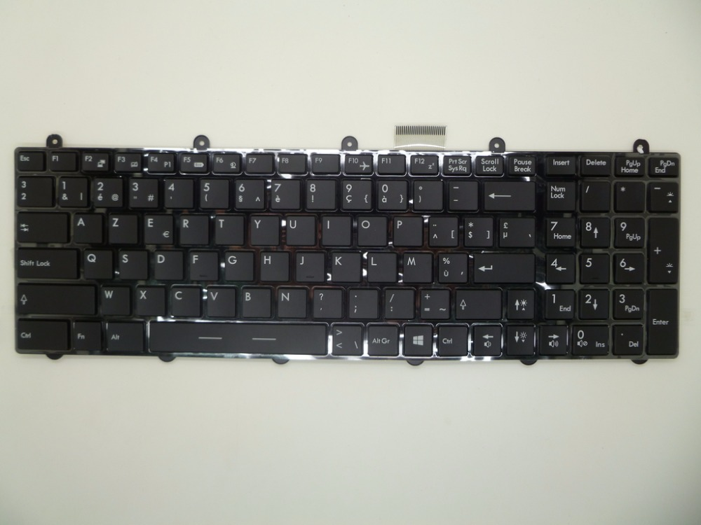 Backlit Keyboard For MSI GT780 V123322AK1 BE S1N 3EBE271 SA0 FR S1N 3EFE261 SA0 GR S1N 3EDE281 SA0 NE S1N 3EDN291 SA0 AR SW TI in Keyboards from Computer Office
