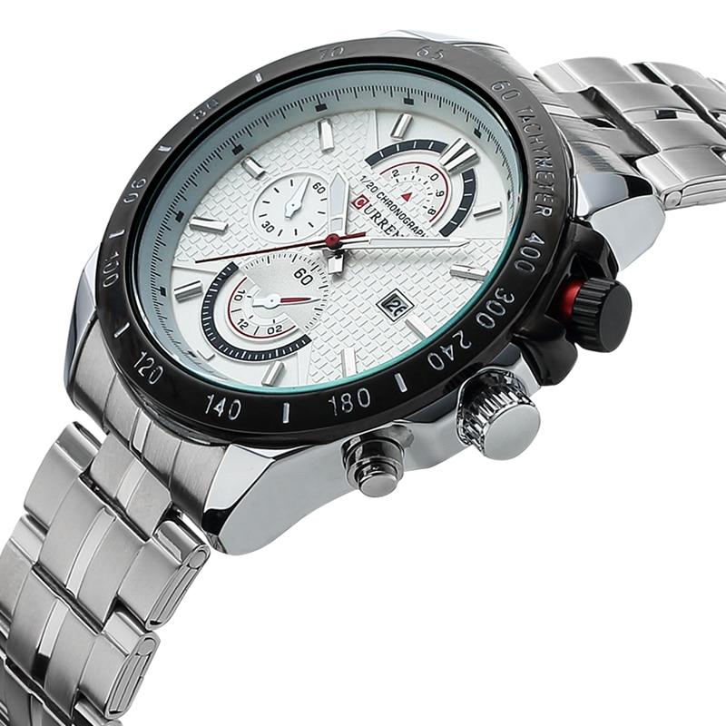 Curren Watches Men Top Luxury Cow Quartz Watches Sport Men s Watches Waterproof Relogio Heren Hodinky