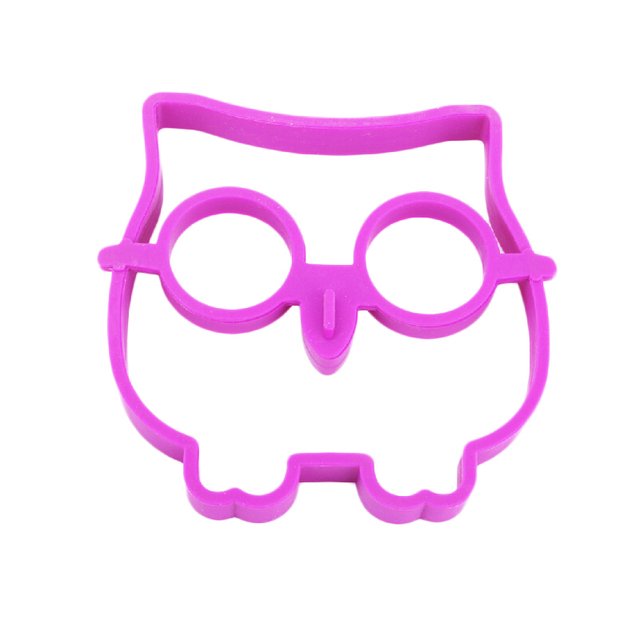 Cute Silicone kitchen tools Owl Egg Mold