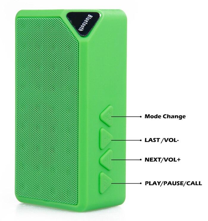 New Version X3 Portable Speaker Music Sound Box Wireless Mini