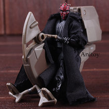 Star Wars Figure Darth Maul with Sith Speeder PVC Figurine Star Wars Calactic Battle Game Darth Maul Doll Collectible Model Toys(China)