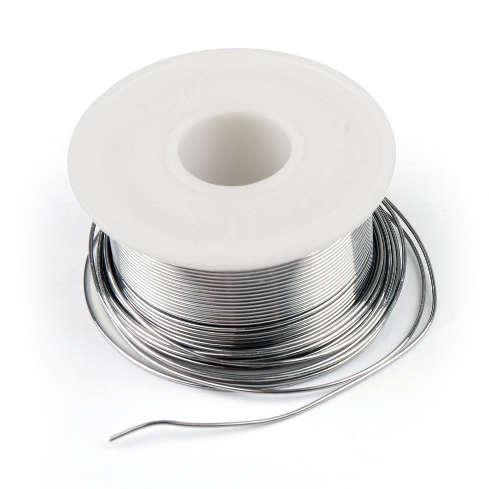 Areyourshop vente de haute qualité 0.8mm 100g 63/37 étain plomb colophane noyau soudure fil de soudage Flux 2% bobine de soudage Promotion