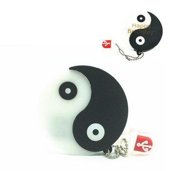 (over 10 PCS) Free LOGO customized Toy yin-yang 4GB 8GB 16GB 32GB 64GB USB 2.0 Memory Stick USB Flash Drive U Disk Pendrive
