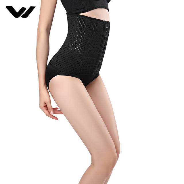 Hot Body Shaper Waist Trainer Belt Steel Boned Corset Women Postpartum Belly Slimming Belt Modeling Strap Shapewear