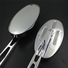 For Motorcycle Honda CBR600 F4/F4i 900RR 929RR 954RR 1000RR RC51 OVAL Shape Alloy Mirror