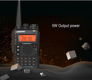 Image 3 - UV 8DR two way radio long distance  136 174/400 520mhz  portable ham CB radio transceiver with headset UV 8DR