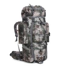 85L Tactical Military Backpack Large Capacity Army Bag Outdoor Mountaineering Climbing Rucksack Camping Hiking Backpacks new backpack large capacity travel bag waterproof oxford cloth mountaineering army military trekking rucksack storage backpack