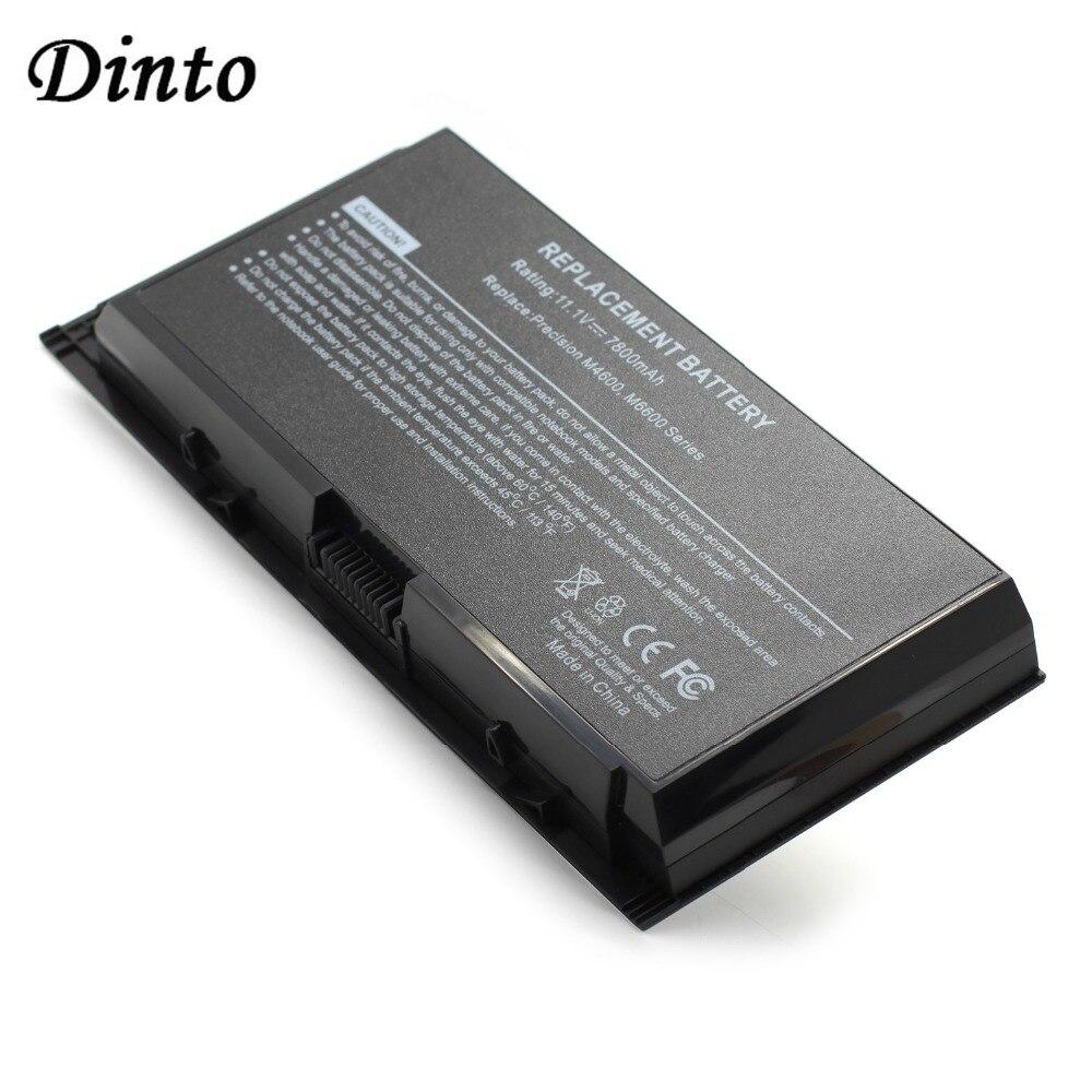 Аккумулятор Dinto 11,1 В 7800 мАч для ноутбука DELL Precision M4600 M4700 M4800 M6700 M6600 PG6RC FV993 R7PND T3NT1 FJJ4W N71FM