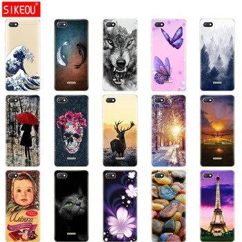 silicon Cover For xiaomi redmi 6a Case Full Protection Soft tpu Back Cover Phone Cases for Xiaomi Redmi 6 A case bumper 6a Coque