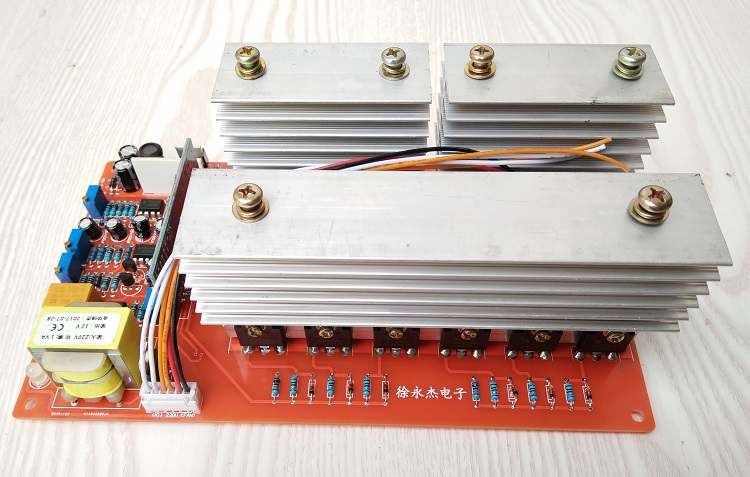 24V 36V 48V 60V/1000W/5000W Pure Sine Wave Power Frequency Inverter Motherboard 24v 36v 48v 60v 1kw to 5kw pure sine wave power frequency inverter motherboard circuit board pcb motherboard