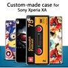 For Sony Xperia XA case, 3D cartoon custom-made painted back cover case for Sony Xperia XA Customized case