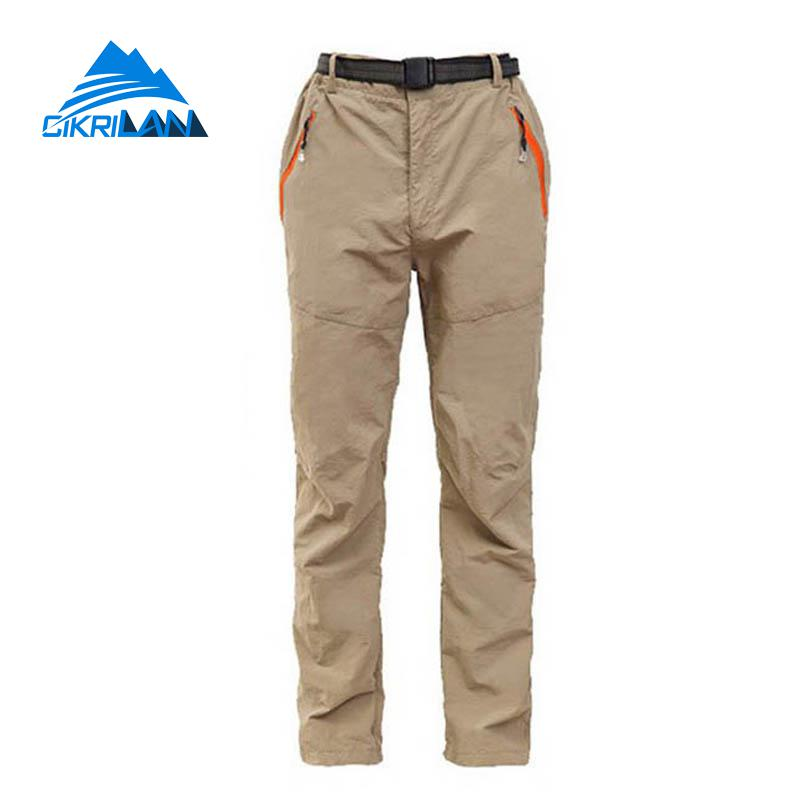 Spring Summer Outdoor Sport Quick Dry Pantalones Mujer Sunscreen Trekking Camping Hiking Pants Women Climbing Cycling Trousers