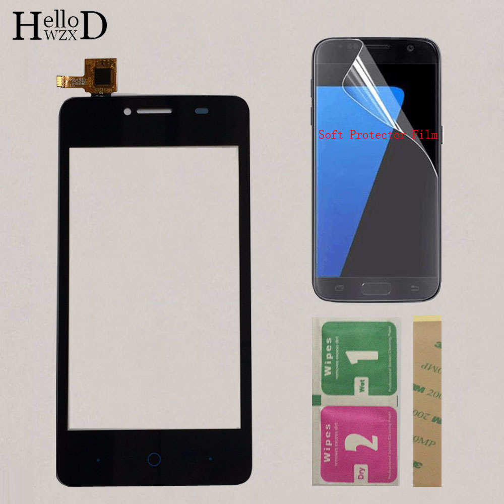 4'' Mobile Touchscreen For ZTE Blade AF3 T221 A5 A5 Pro Touch Screen Front Glass Sensor Digitizer Touch Panel Protector Film image