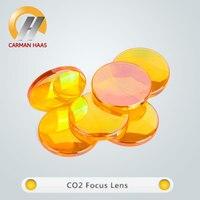 Free Shipping CO2 Focus Lens USA ZnSe Focusing Lens Dia. 20mm FL 38.1mm 50.8mm 63.5mm 75mm 100mm 127mm 190.5