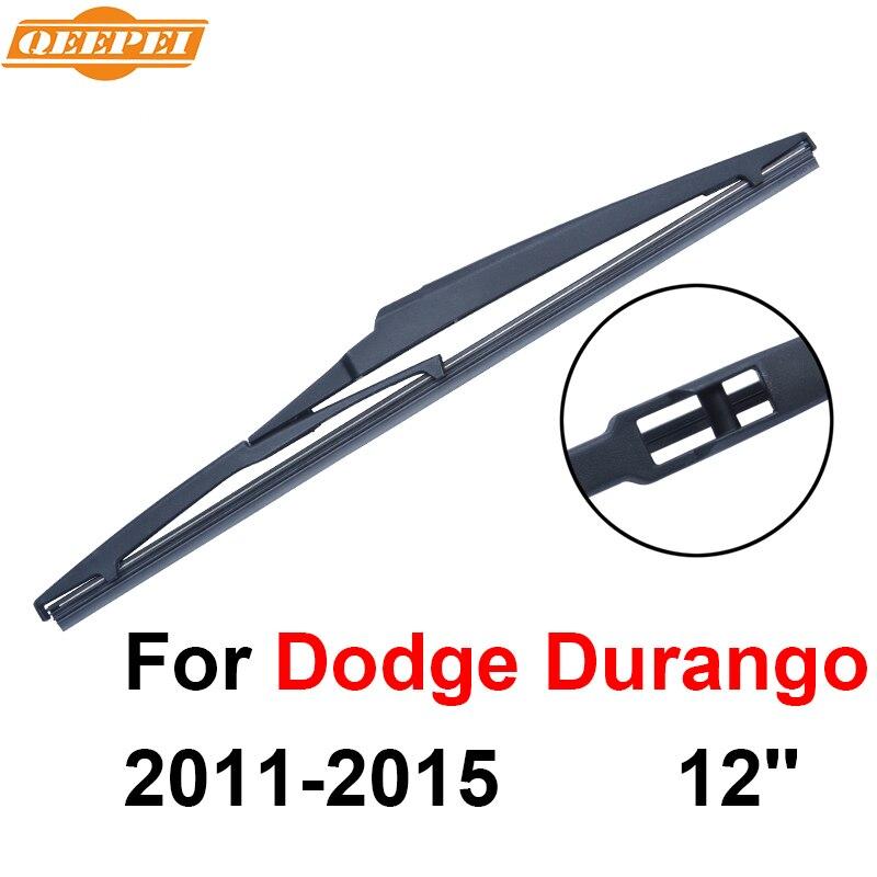 514faa672f9e ⑤Qeepei escobilla trasera sin brazo para Dodge Durango 2011-2015 12 ...