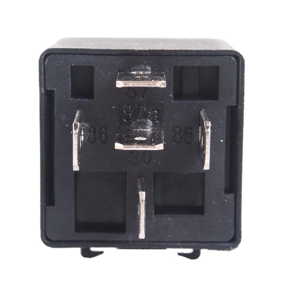 Schwarz DC 12V 40A Auto 4 Pin Automotive Alarm Relais