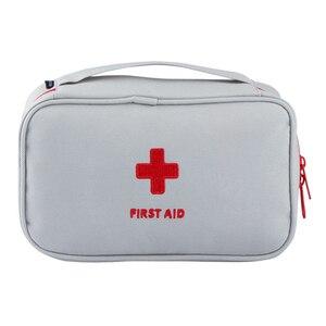 Image 2 - แบบพกพา Plus ขนาดกันน้ำ First Aid Bag Camping กระเป๋าบ้านกรณีฉุกเฉินทางการแพทย์ทางการแพทย์แพคเกจ