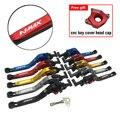 Набор рычагов для парковки ключей для YAMAHA N-MAX 155 150 125 NMAX 155 N-MAX 150 155 Складные Выдвижные сцепные рычаги