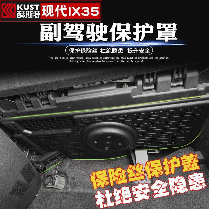 Couvercle de fusible de co-pilote ABS de haute qualité pour Hyundai IX35 2018 2019