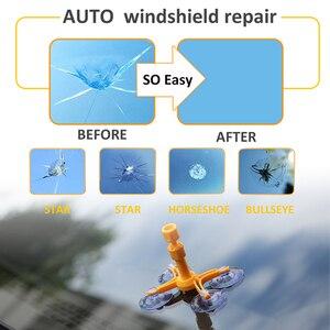 Image 4 - Auto Styling Voorruit Reparatie Kits Autoruit Glas Kras Voorruit Crack Herstellen Hars Sealer Diy Auto Reparatie Tool Poling