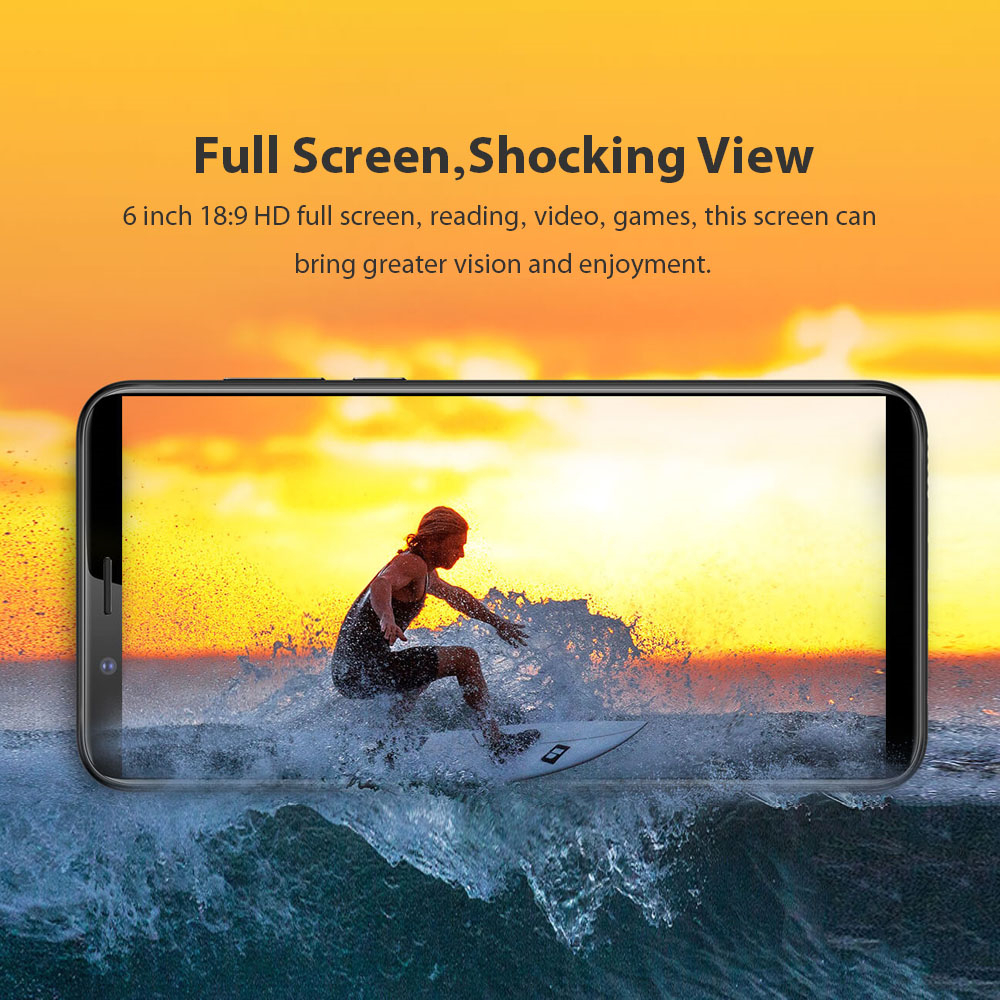 Lenovo K9 Note Global Version 3GB RAM 32GB ROM 3760mAh 6.0 Inch Face ID Mobile Phone Android 8.1 16MP Snapdragon 450 Octa Core