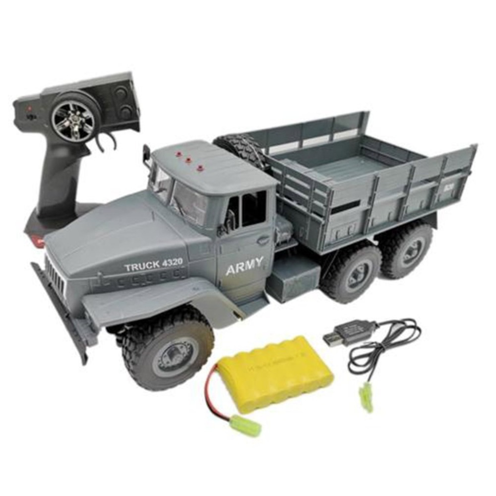 1:16 Soviet Ural Military Remote Control Truck RC Army Truck Electric Remote Control Truck Toy Kids Birthday Christmas Gift