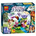 BELA 83 unids Elfos Emily Jones y el Bebé Dragón de Viento Bloques de construcción de Juguetes regalos de Navidad Compatible Legoe Amigos Para Niña 41171
