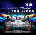 Caliente! SYMA aviones x9 mini aviones de cuatro ejes aérea aérea UFO telecontrolled aviones enfriar avión de juguete para el niño