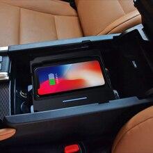 Qi автомобиля Беспроводной Зарядное устройство для iPhone Xs Max Xr X samsung S10 S9 для Lexus GS- интеллектуальный инфракрасный Автомобильный держатель для телефона на магните