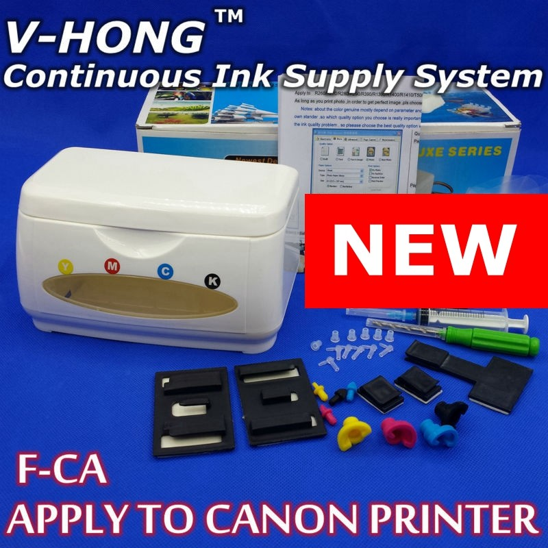 Prix pour CISS réservoir d'encre kits pour canon imprimante pgi-510 511 pgi-445 446 Continu Ink Supply System Universal mx397 (avec complices)