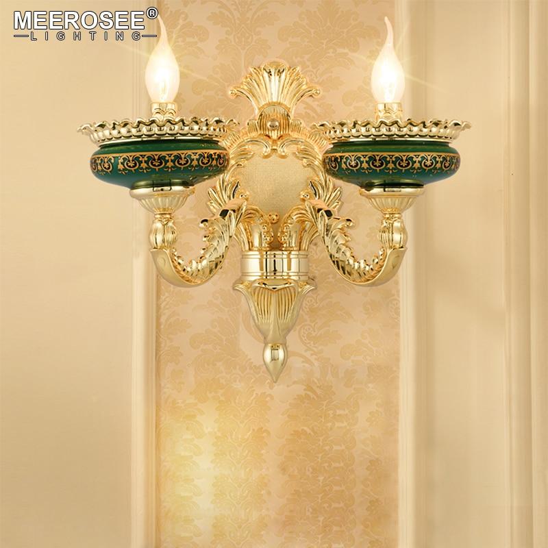 Vintage Wand Lampe Lüster Wand Lichter Schlafzimmer Wohnzimmer Wandlampen Gang Korridor Hoher Qualität Indoor Dekoration Beleuchtung Lampe Verkaufspreis Lampen & Schirme