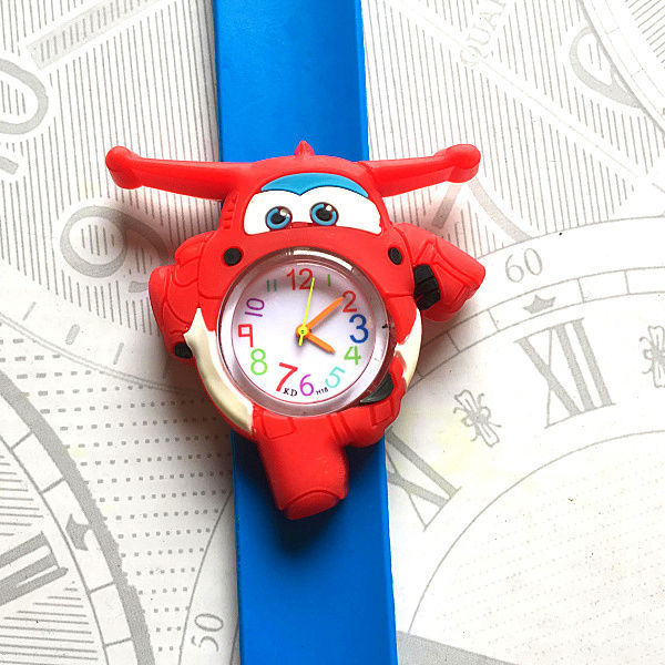 Children's Watches 3D Cartoon Aircraft car kids Baby Watch Clock Child Quartz Watches for Girls Boys kid Gifts Relogio Montre