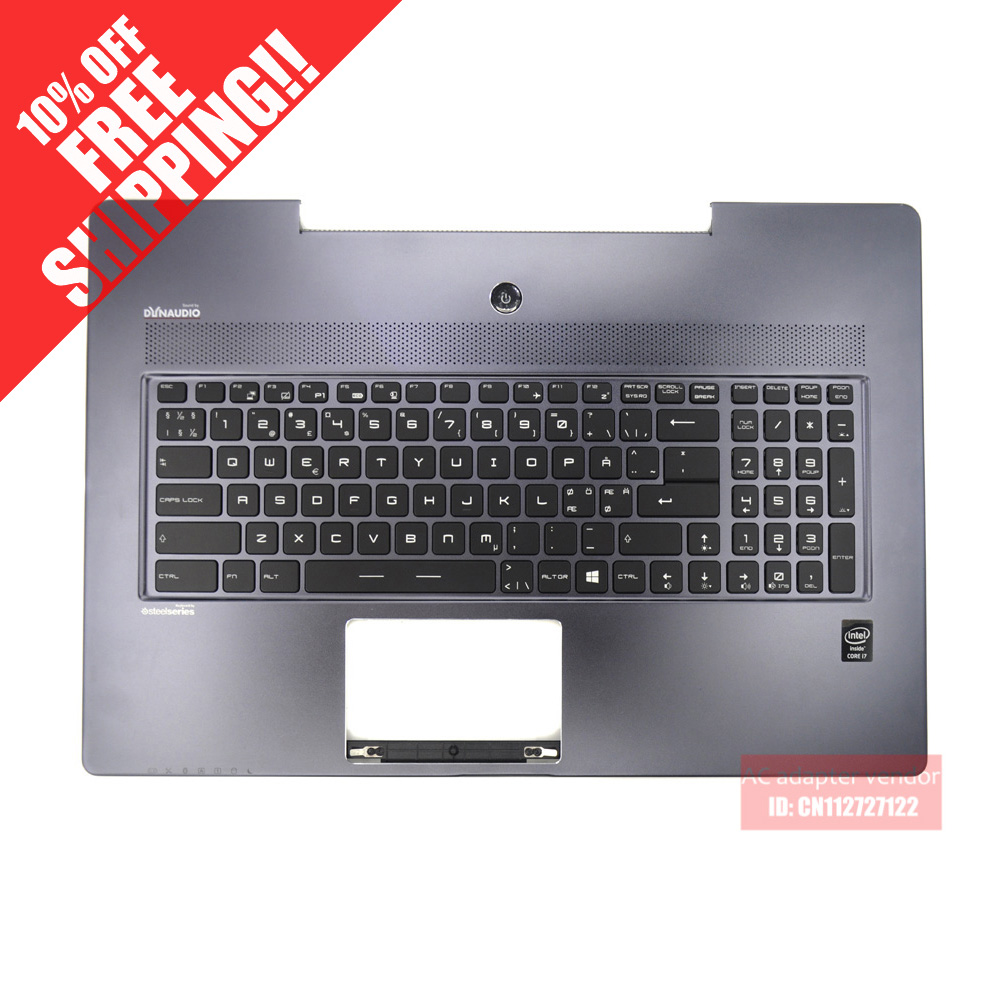 FOR MSI GS70 GS60 keyboard backlit C shell palmrest for msi gs70 gs60 keyboard backlit c shell palmrest