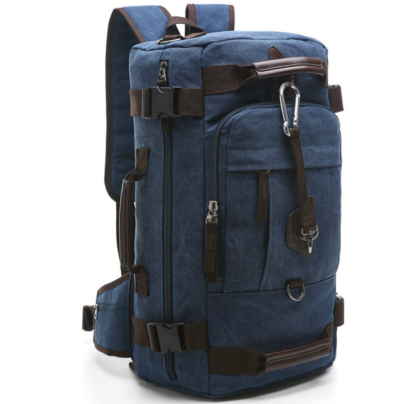 Men Canvas Backpack Military Assault Small Rucksack Army Combat Travel Bag 2018 Hot Sale 2017 hot sale men 50l military army bag men backpack high quality waterproof nylon laptop backpacks camouflage bags freeshipping