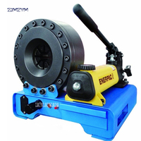 RS 92S A гидравлических шлангов ручной обжимной машина 1040KN усилием 30MPa давления, 7 компл. Стандартный модуль ручной инструмент наборы
