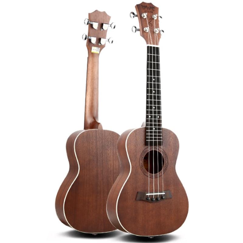 Ukulele 23 inch Mini Acoustic Guitar Concert Ukelele 15 Frets 4 String Guitar String Musical Instrument the beatles 4 string electric bass guitar sun sb color musical instrument